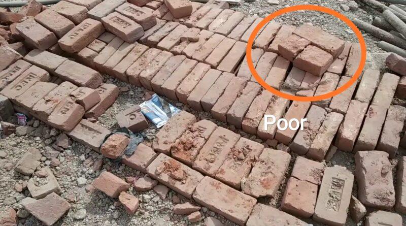 field test of brick