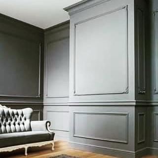Duvar Çıta salon oturma odası