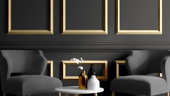 duvar çıta oturma odası