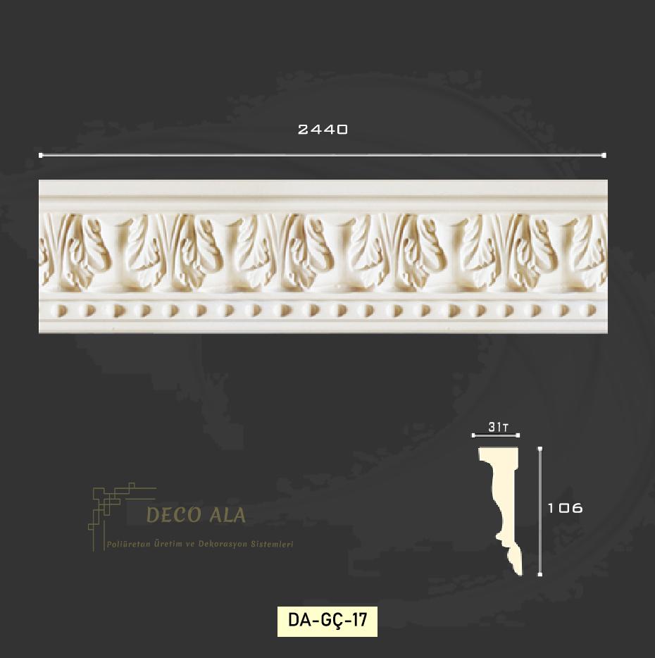 Desenli Duvar Çıtası ve Söve