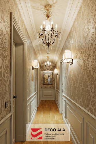Koridor ve Giriş Holü Duvar Çıtalama