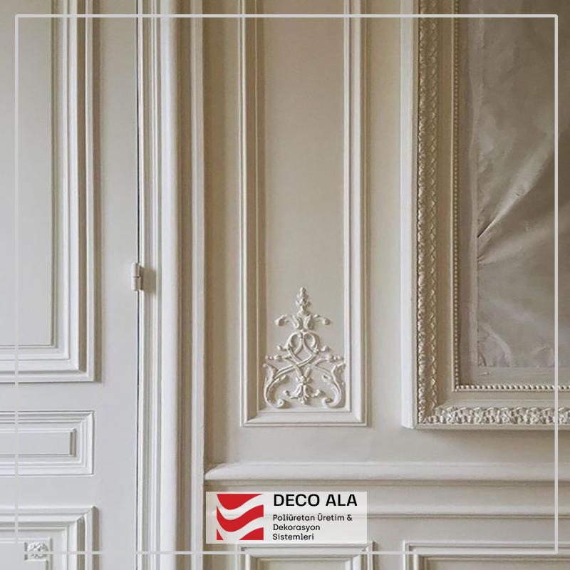 poliüretan duvar çıtası duvar dekorasyonu motif