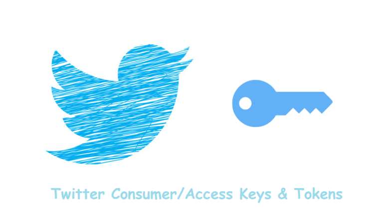 Getting Twitter Consumer API/Access token keys