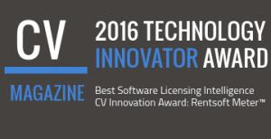 2016 Technology Innovator Award for Rentsoft Meter