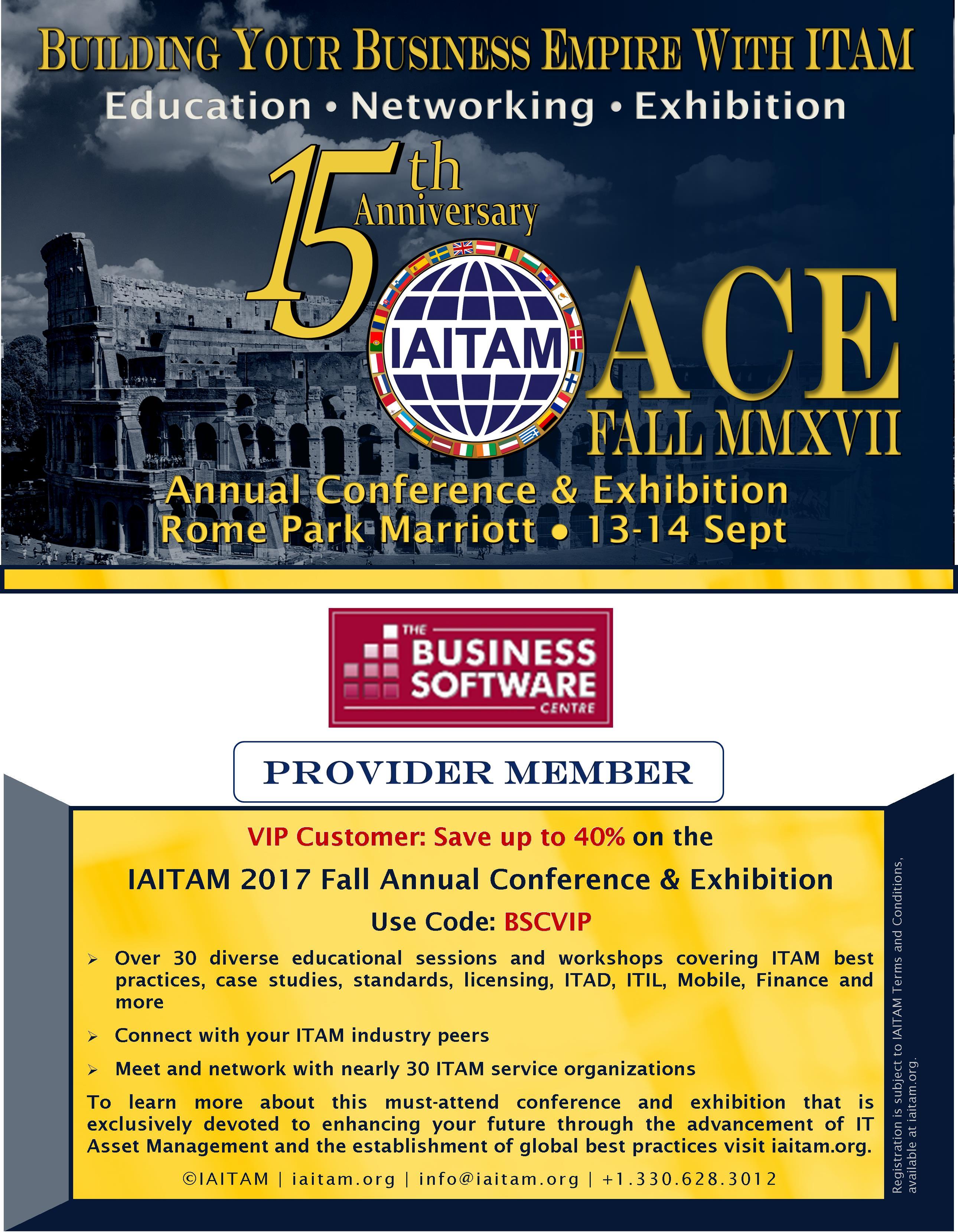 IAITAM FALL 2013- TBSC