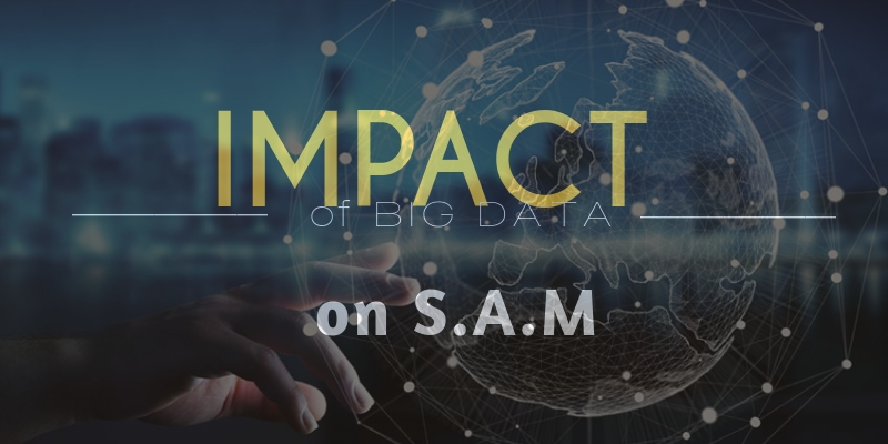 Impact of Big Data on S.A.M