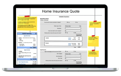 Insurance quote process