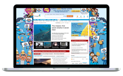 MSN Homepage (Confused.com)