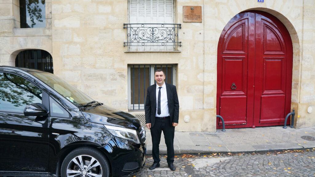 Personal Driver in Paris