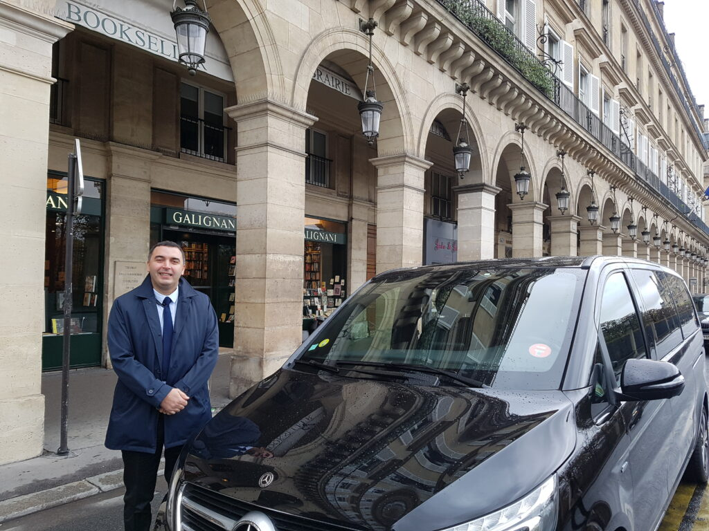 Driver in Paris