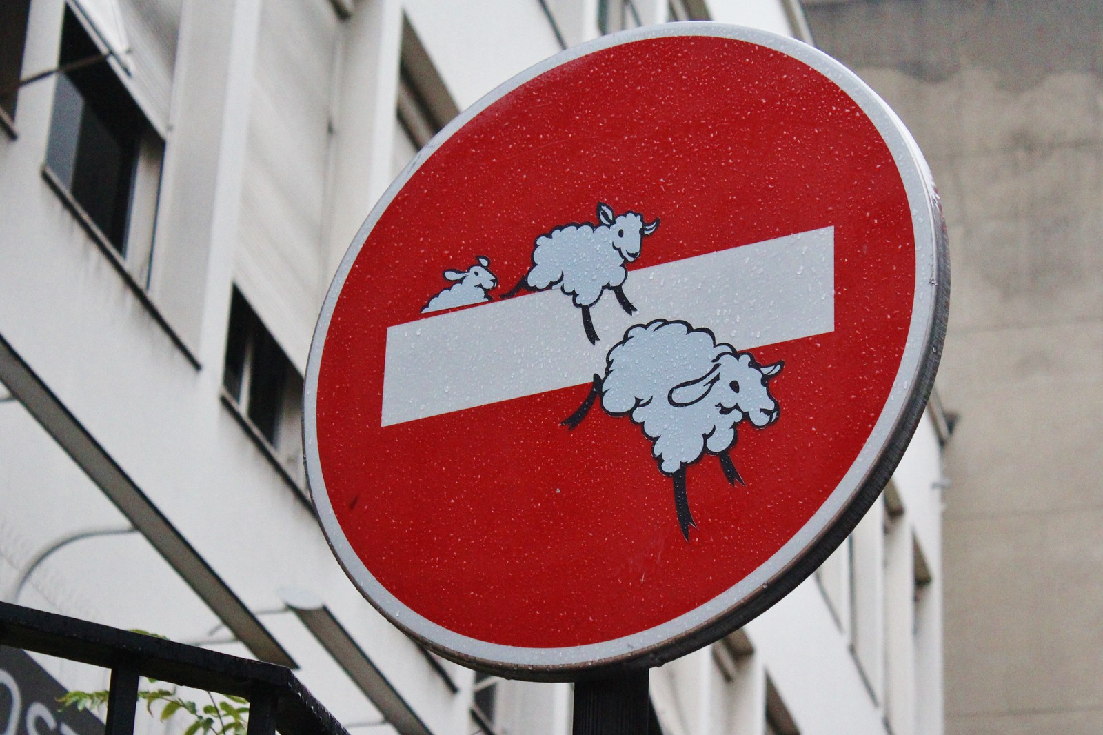 Street-Art-by-street-artist-Clet-in-Paris-France-photo-by-meuh1246-854466