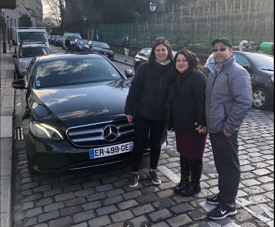 Sam Driver in Paris Car Tour Paris with Flora Goldenberg Tour Guide and Sam Driver