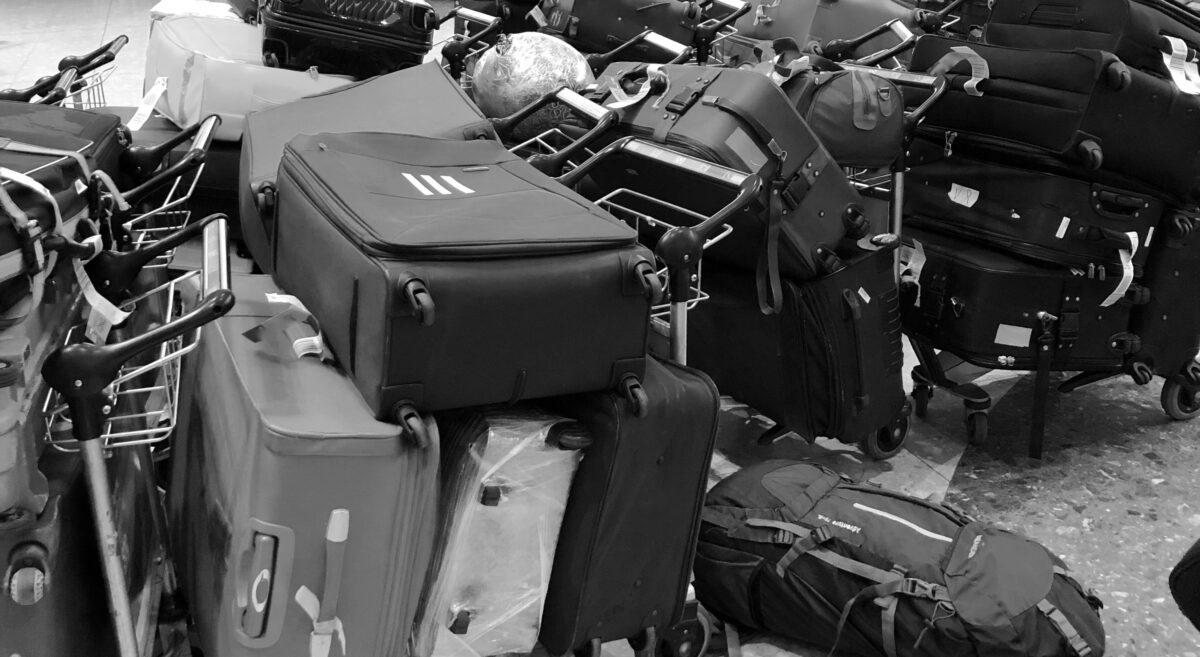 Misplaced bags
