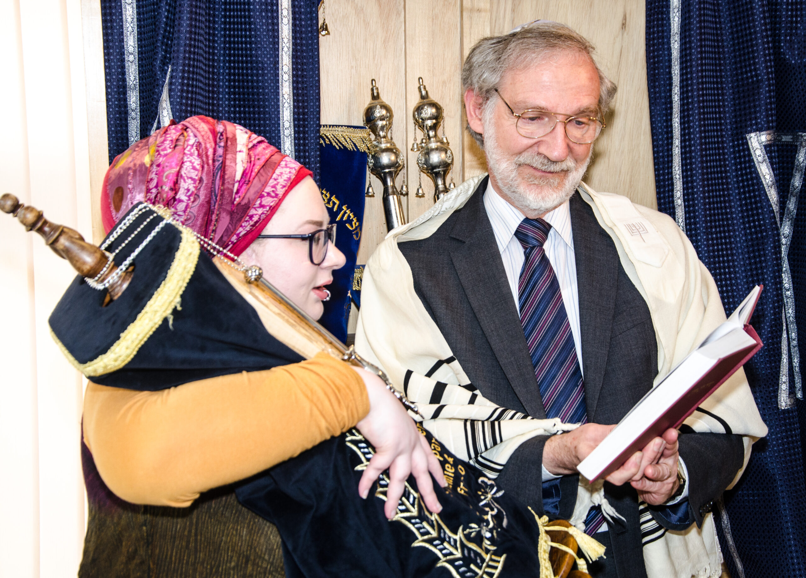 On March 14th 2020 our latest proselyte, Hannah, was formally admitted to Judaism by Rabbi David Hulbert