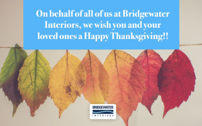 A Thanksgiving Message From Our Bridgewater Family To Yours
