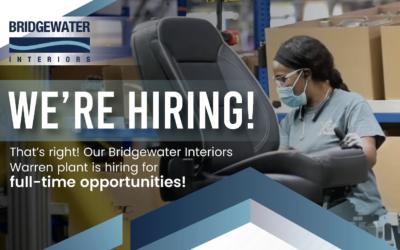 Bridgewater Interiors Now Hosting Open Job interviews!