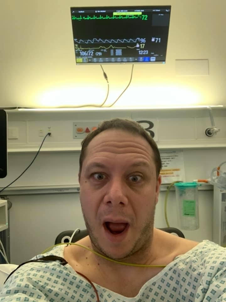 In the recovery room at St George's, University of London.  Tooting, London, England
