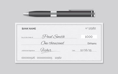 cheque law in dubai