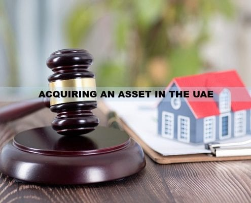 ACQUIRING AN ASSET IN THE UAE