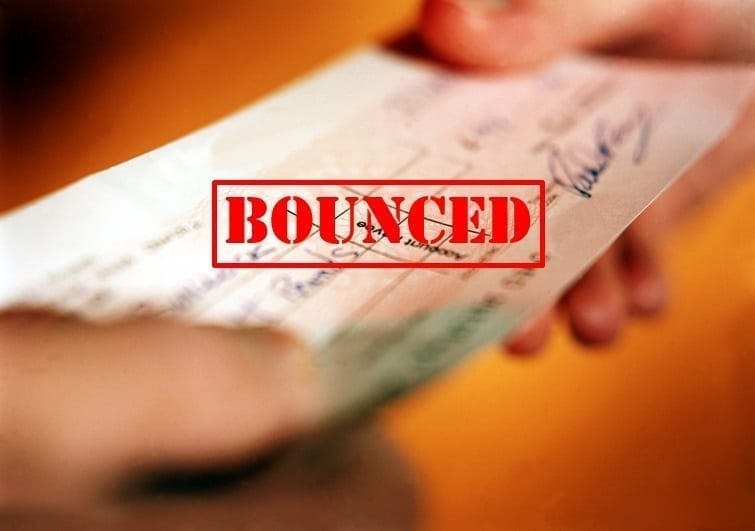 bounced cheque in dubai uae