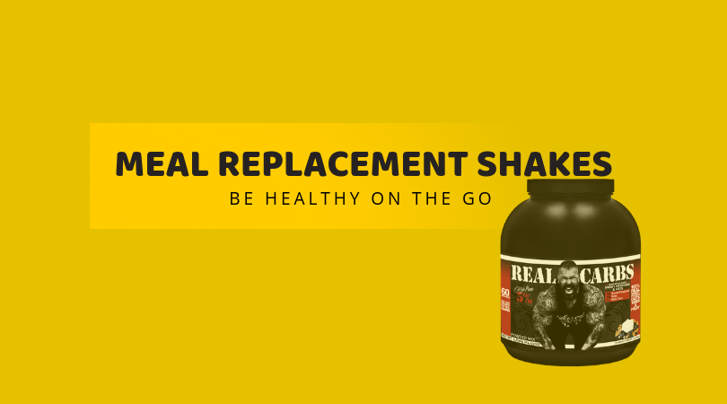 Meal Replacement shakes – Be healthy on the go