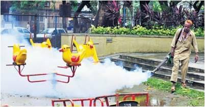 anti-malaria fogging