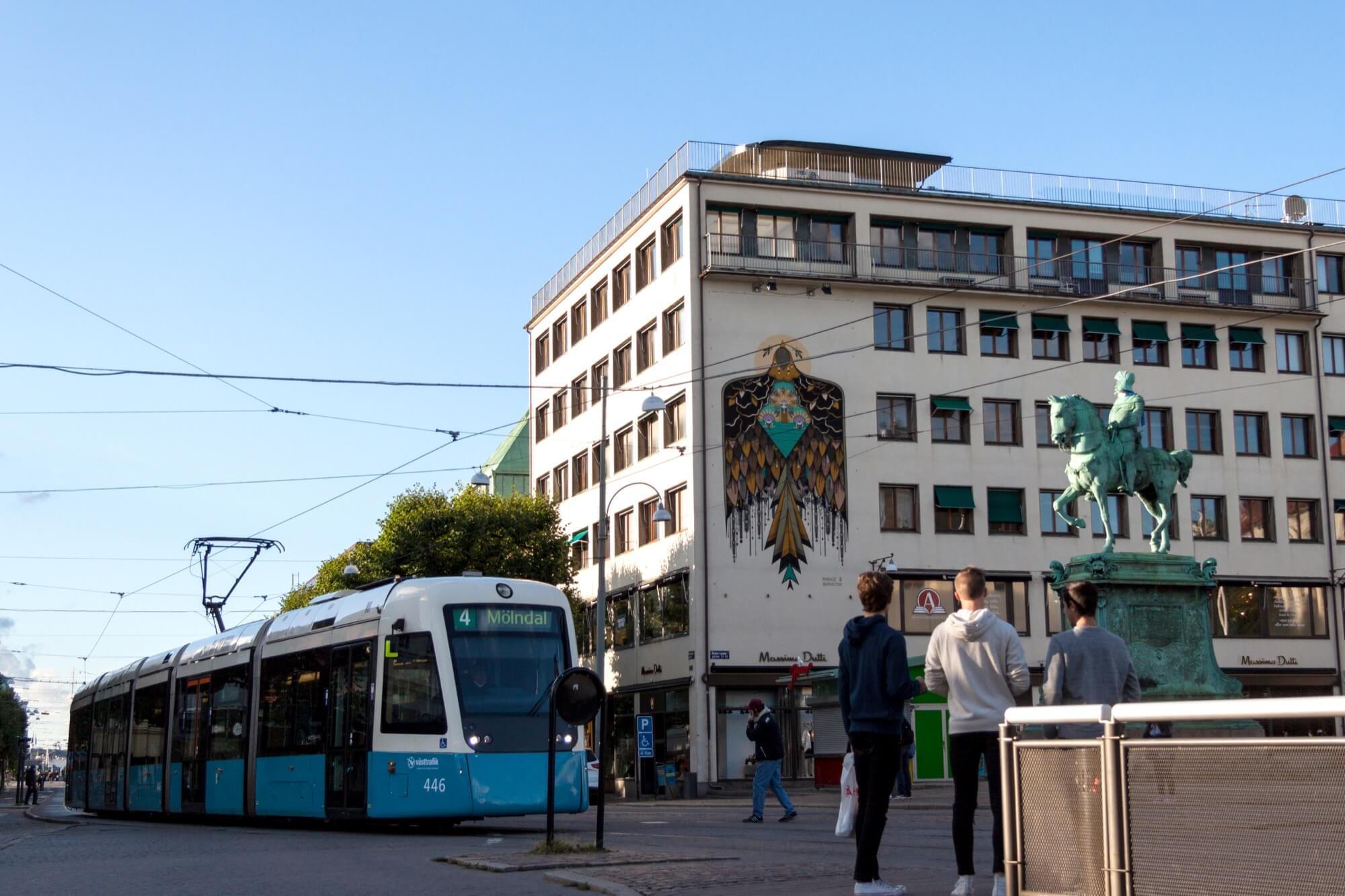 Mer gatukonst från Artscape när Göteborg firar 400 år