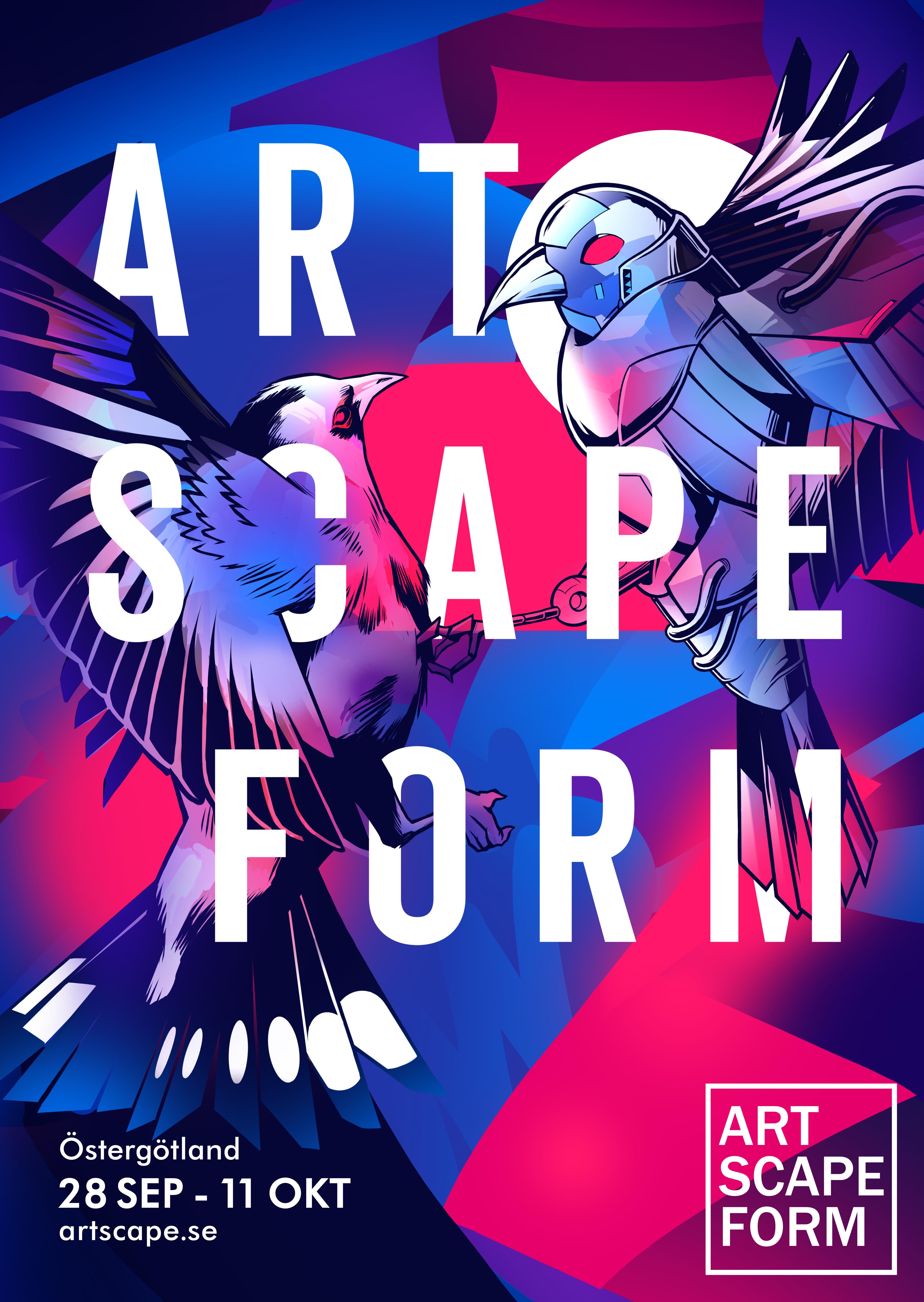 Read more about the article Inbjudan till pressträff ARTSCAPE FORM