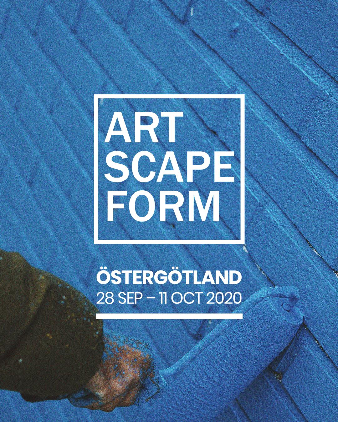 ARTSCAPE FORM – Östergötland 2020