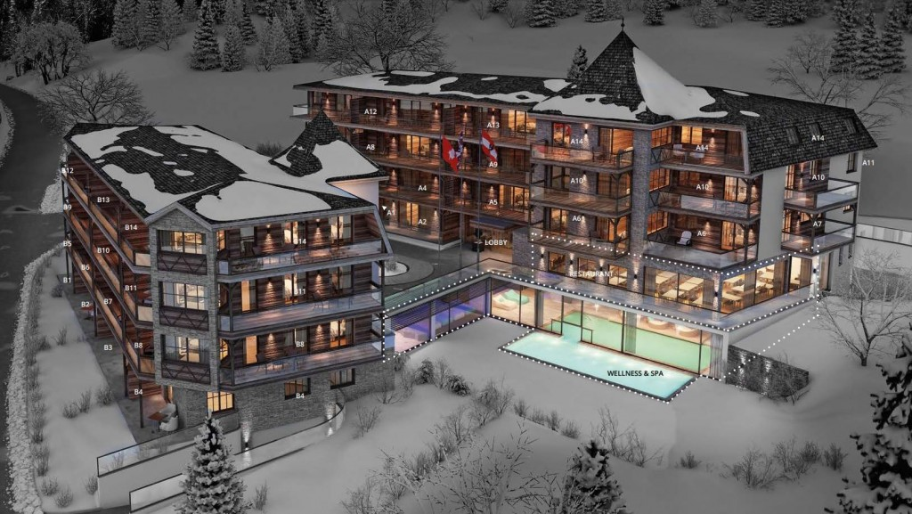 Mountain Spa Residences St Anton - key