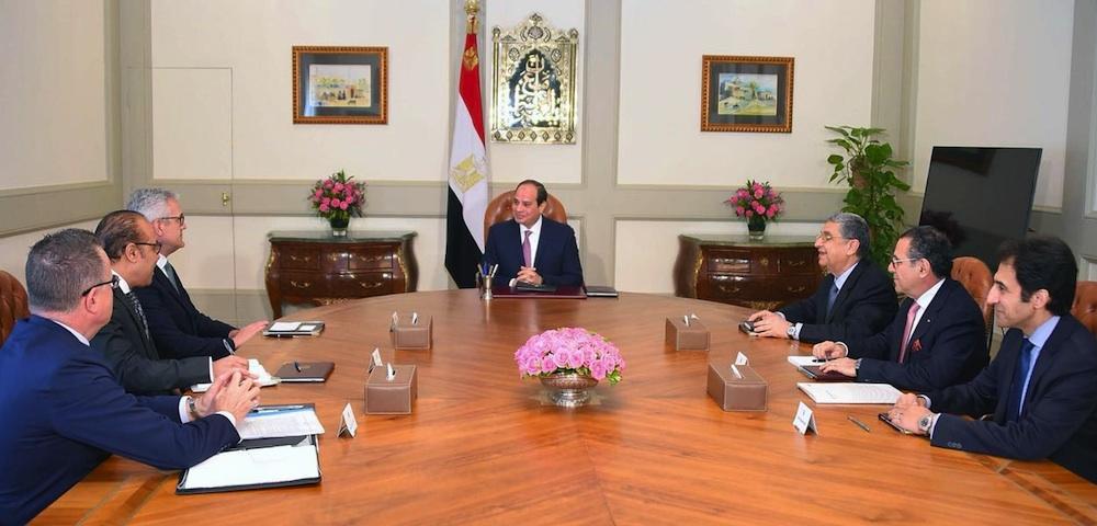 ABB CEO meets President of Egypt