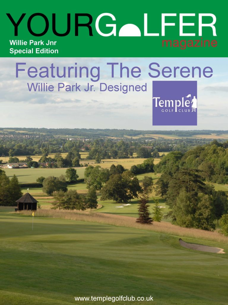 Willie Park Jr Special your golfer magazine