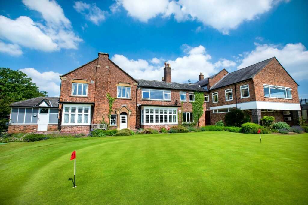 Wilmslow Golf Course as recommended by Your Golfer Magazine - home pic