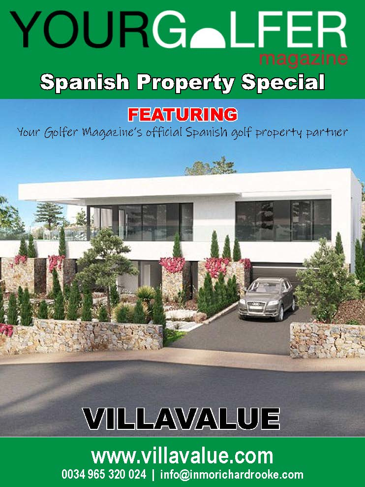 Villa Value Spain - as recommended by your golfer magazine