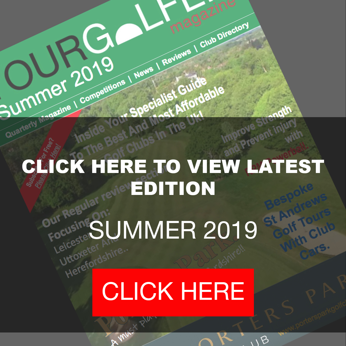 Your Golfer Magazine Golf Courses UK