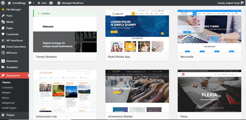 Start A Blog Using WordPress