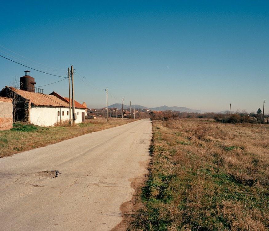 countriside bulgaria mountain sky derelict