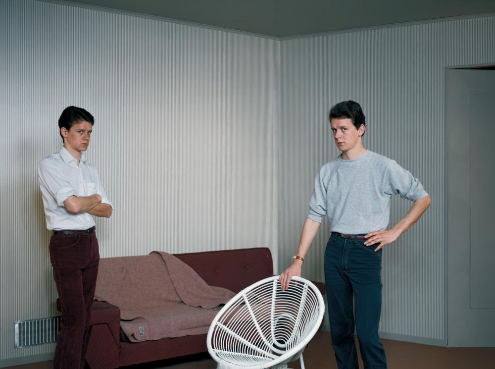 Jeff Wall - Double Self Portrait