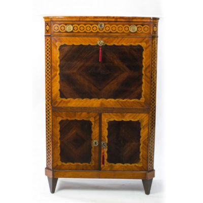 SOLD – Antique Kingwood & Rosewood Secretaire Abattant c.1820