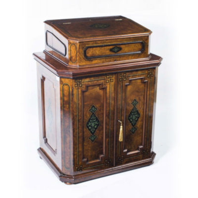Victorian Antique Davenport Desk c.1850
