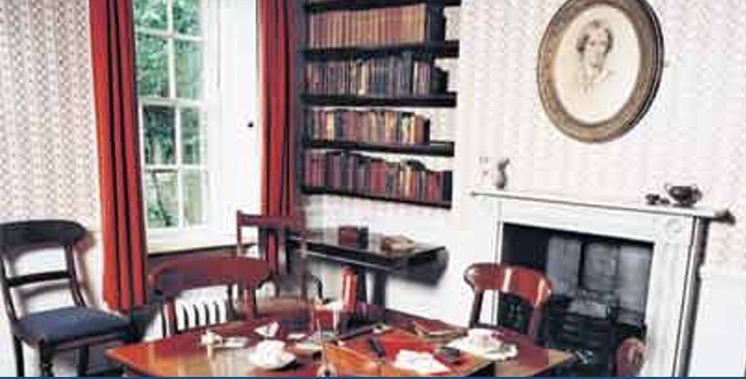 Writers' rooms: Charlotte Bronte