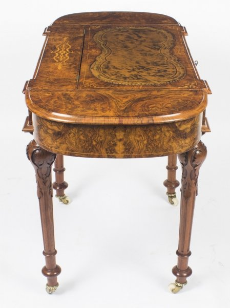 Antique Marquetry Writing Desk c.1820