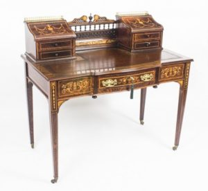 Antique Carlton house Desk c.1900