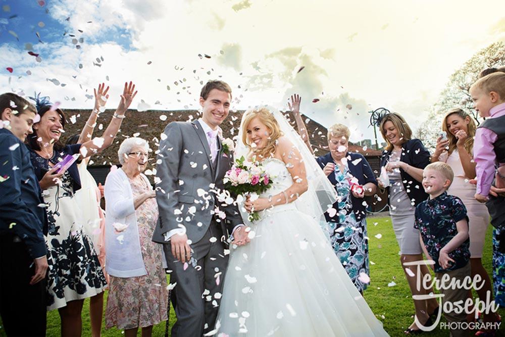 Wedding confetti fun
