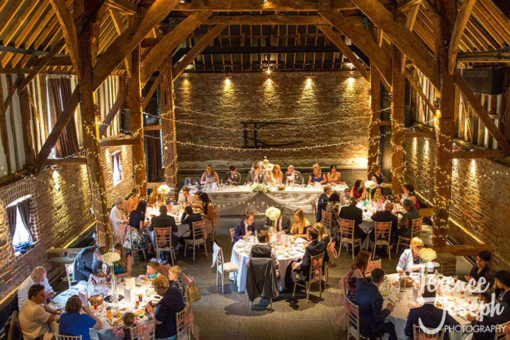Beautiful photo of the Cooling Castle Barn