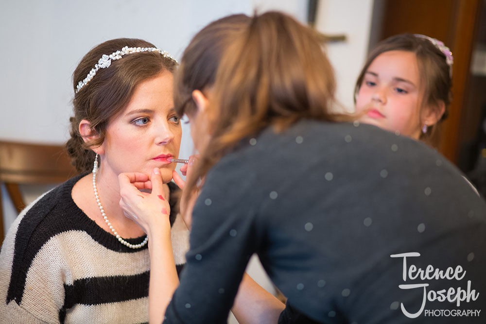 Bridal prep photos by Terence Joseph Photogrpahy