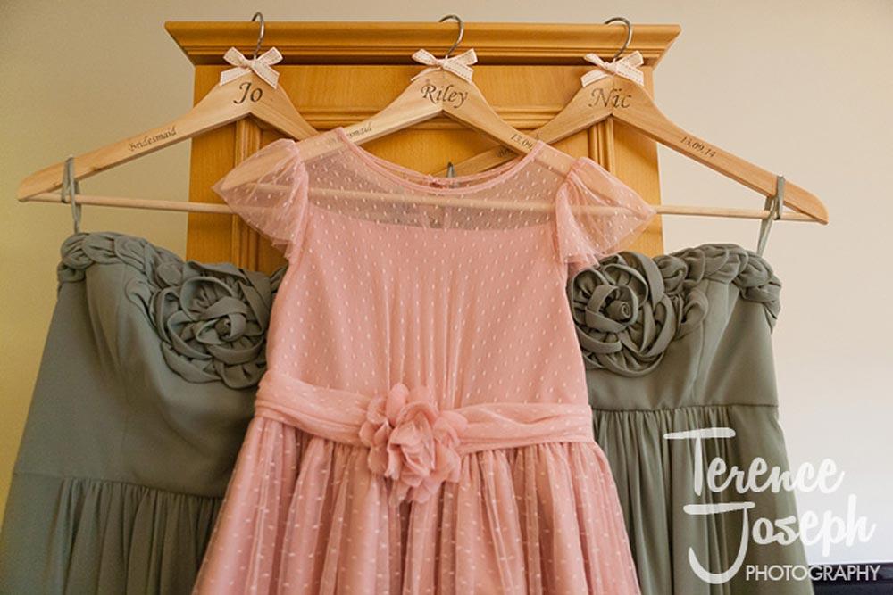 Wedding Personalised wedding coat hangers