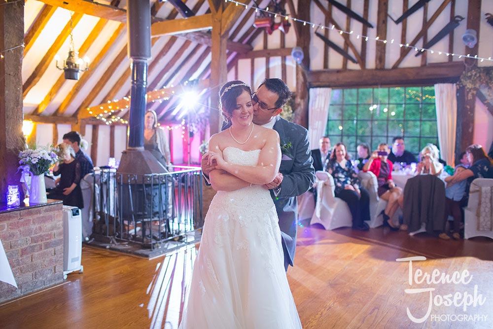 Bride and groom rock the dance floor