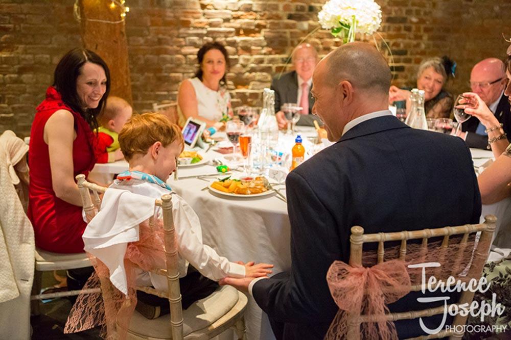 Children games at weddings