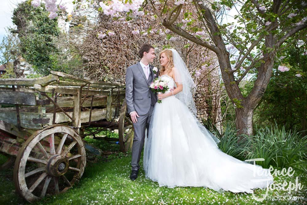Beautiful wedding couple photos